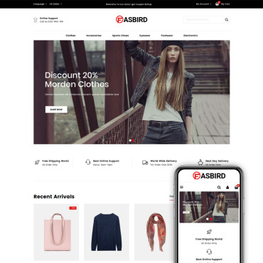 Fashion Prestashop Themes 83940