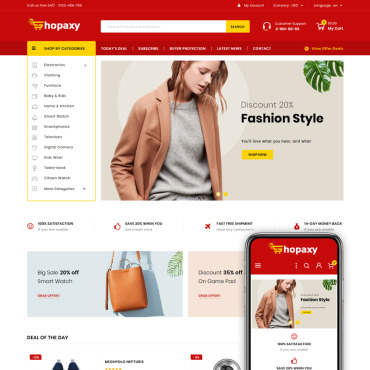 Fashion Prestashop Themes 83943