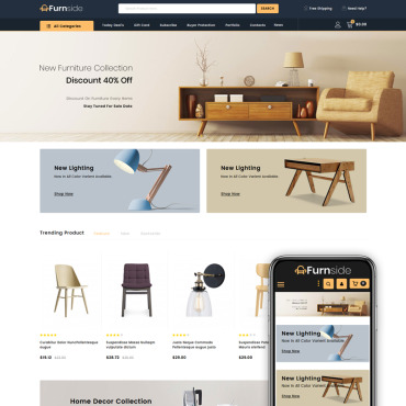 Furniture Prestashop Themes 84005
