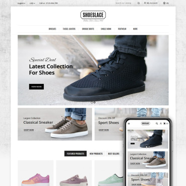 Shoes Prestashop Themes 84013