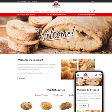 Bakery Prestashop Themes 84627