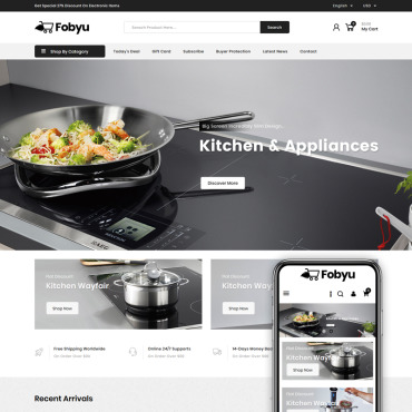 Kitchen Prestashop Themes 84928