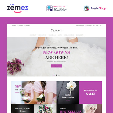 Theme Prestashop Marriage Mariage 85591