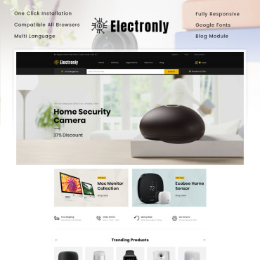 Electronics Prestashop Themes 86120