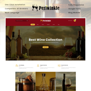 Wine Prestashop Themes 86314