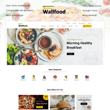 Restaurant Prestashop Themes 86999