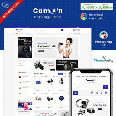 Electronics Prestashop Themes 87192