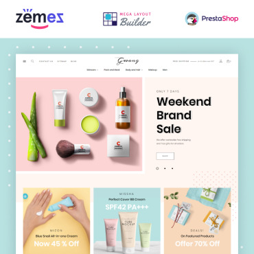 Beauty Prestashop Themes 87319