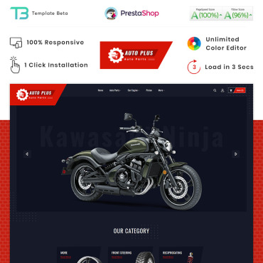Theme Prestashop Tools Autoapart 87911