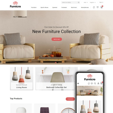 Furniture Prestashop Themes 89583