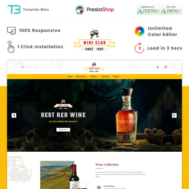 Food Prestashop Themes 89655