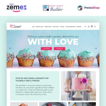 Bakery Prestashop Themes 89662