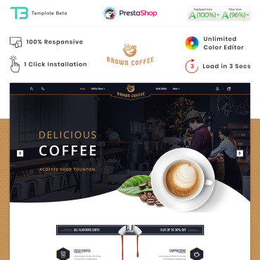 Food Prestashop Themes 89832