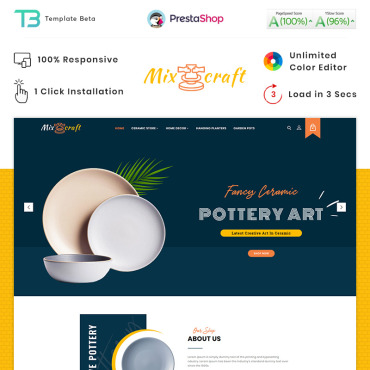 Art Prestashop Themes 90275