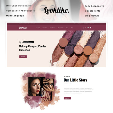Beauty Prestashop Themes 90629
