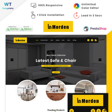 Furniture Prestashop Themes 90636