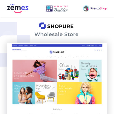 Theme Prestashop énormesale Wares 91269