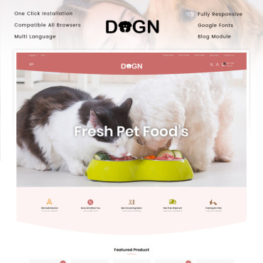 Pet Prestashop Themes 92537