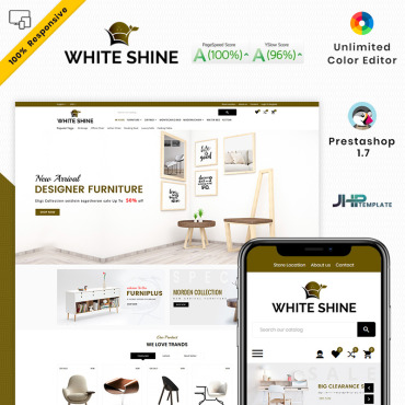 Furniture Prestashop Themes 93426