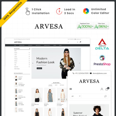 Fashion Prestashop Themes 93430