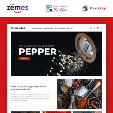 Spices Prestashop Themes 94386