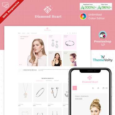 Jewellery Prestashop Themes 94588