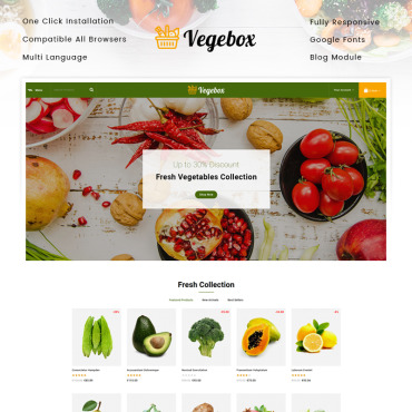 Fruits Prestashop Themes 95163