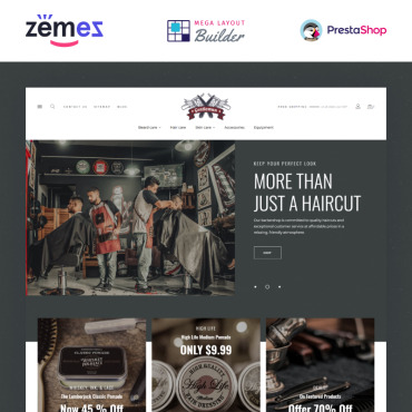 Beard Prestashop Themes 97860